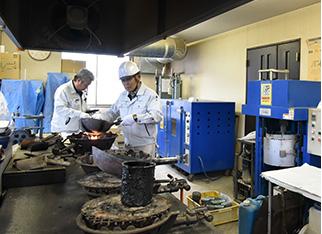 1F 試験室の写真