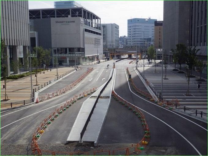 ささしまライブ24土地区画整理事業 都計笹島線他1路線街路築造工事