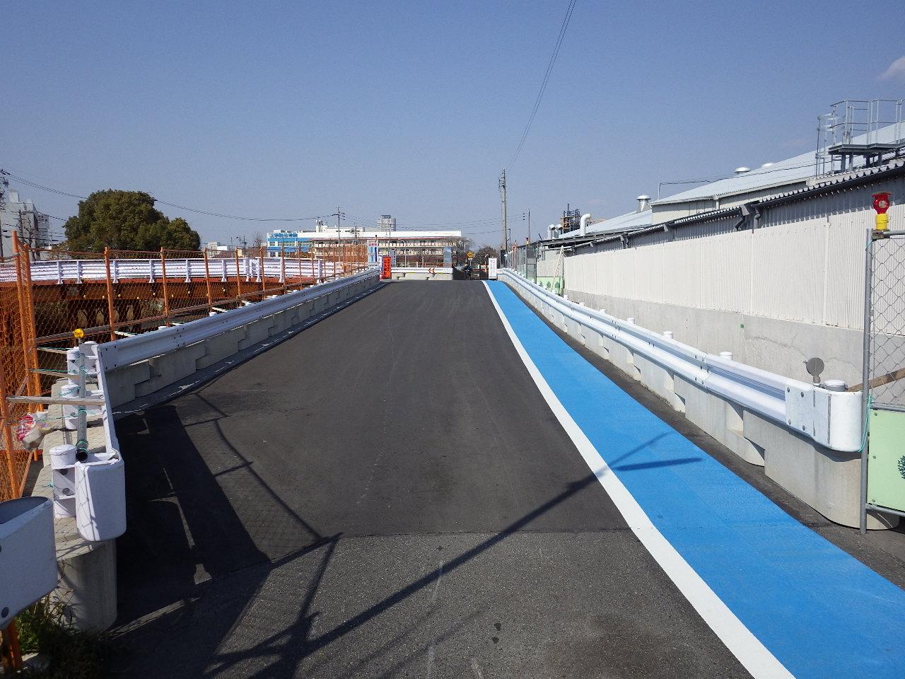 平成26年度 1号熱田伝馬橋道路建設工事