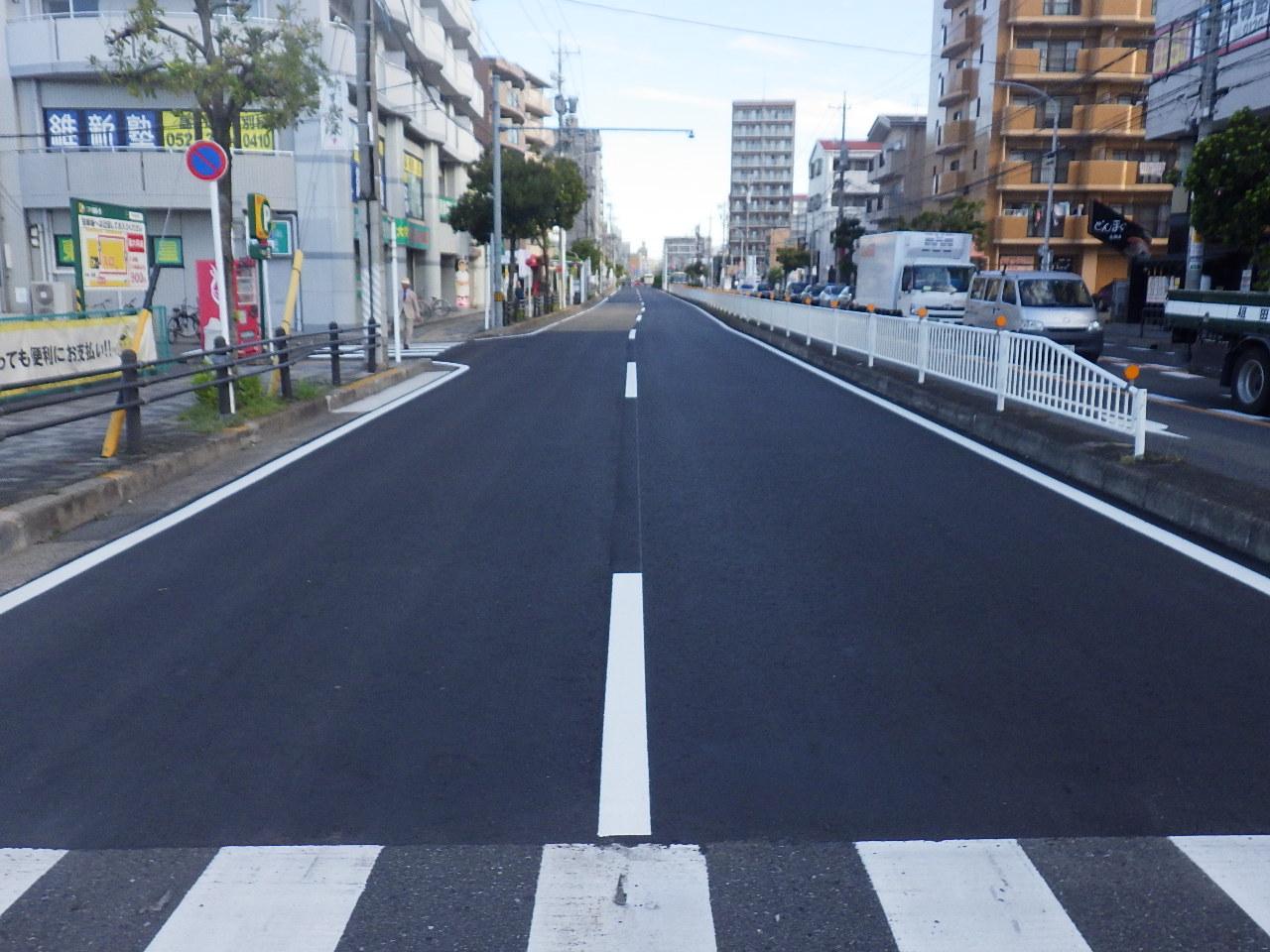 市道高畑南北第37号線舗装道補修工事(中川-1)