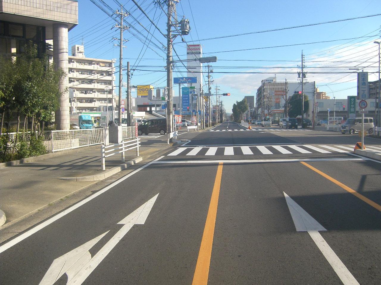 県道名古屋犬山線舗装道補修工事(北-1)  及び掘削跡復旧工事(北-1)