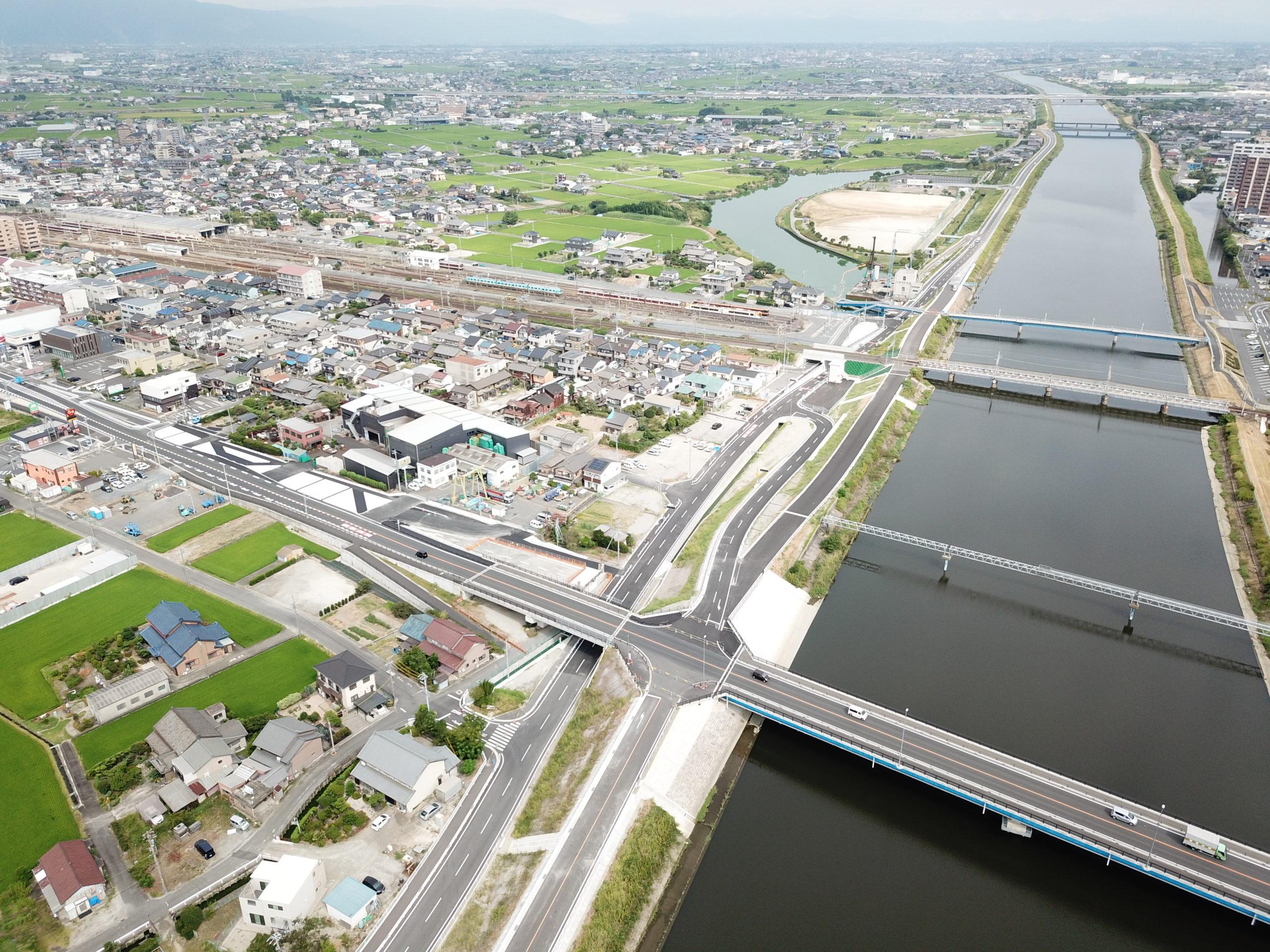平成29年度 1号日光川右岸道路建設工事
