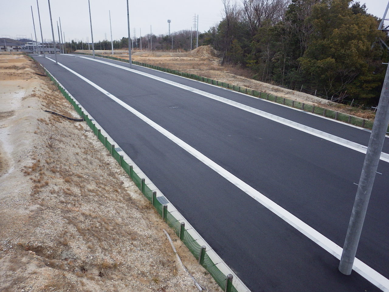 市道熊野豊明線第10号道路改良工事