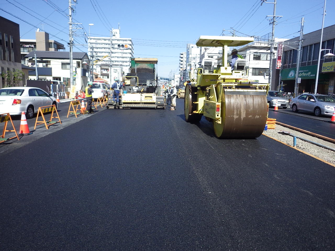 都計上飯田街路築造工事の画像3