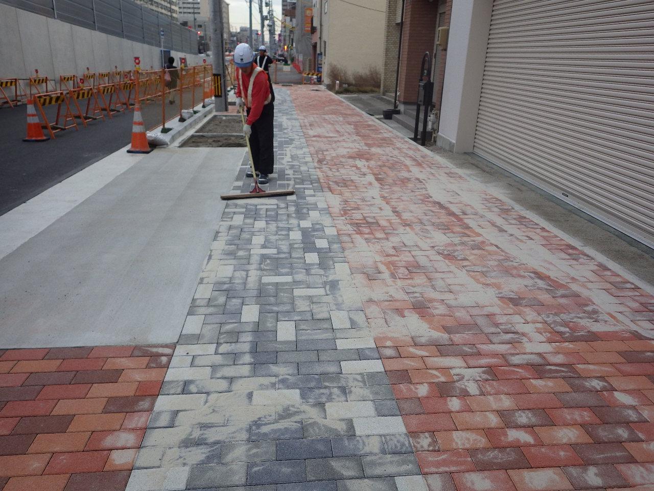 都計上飯田街路築造工事の画像4
