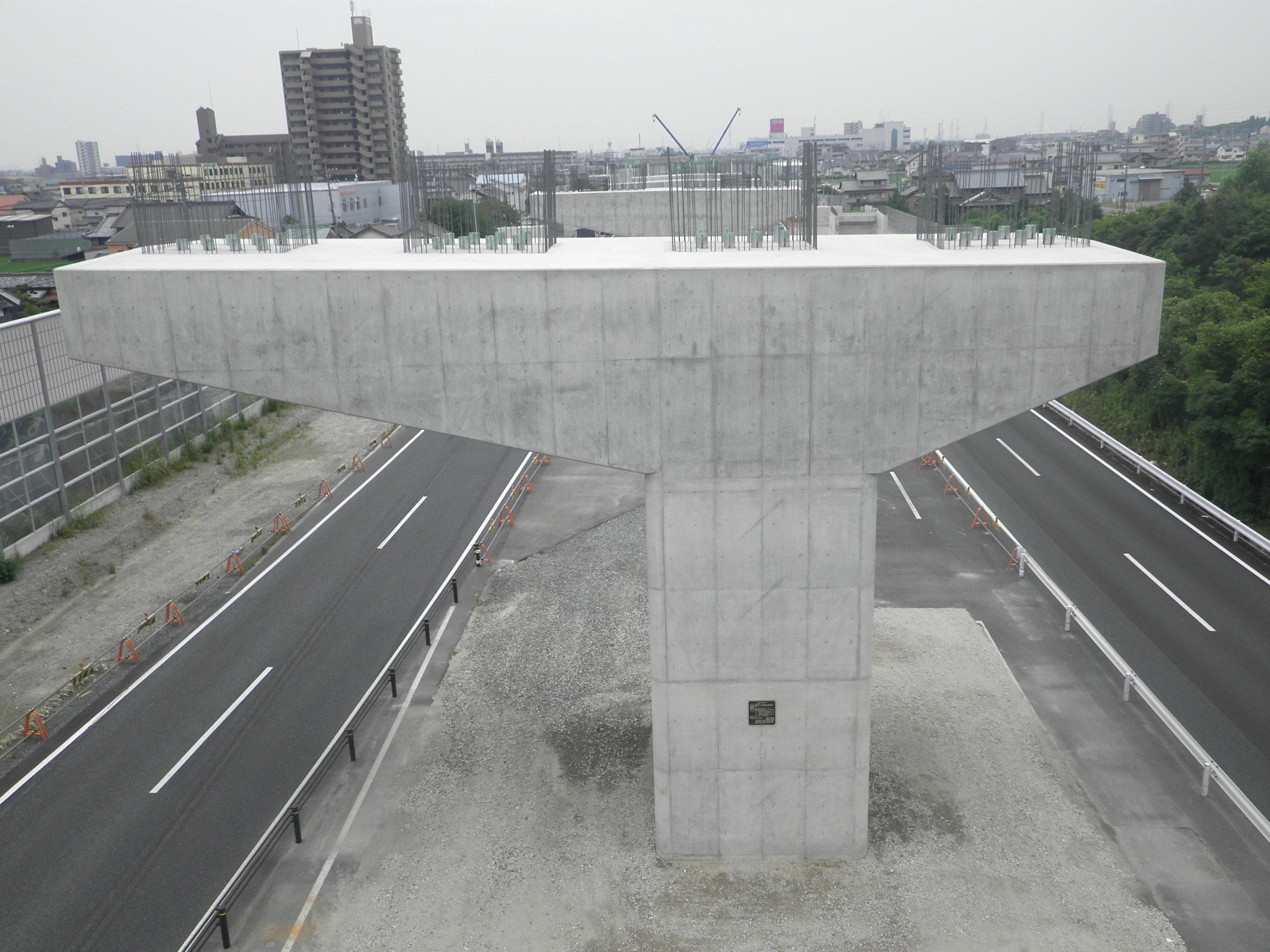 平成28年度 名二環西蟹田2高架橋南下部工事